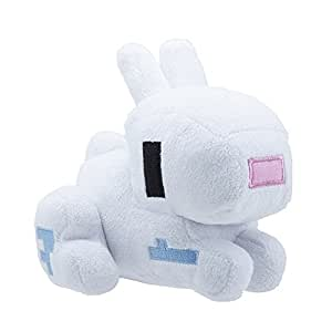 Amazon.com: Tikii Minecraft Plush Toy Stuffed Animal Doll Bunny 13cm 5