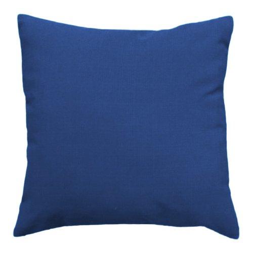 Wasserabweisend Aussen Kissen 60cm Blau