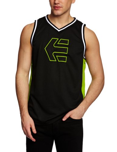 Etnies Busta Tank Men's Vest Green/Black Medium