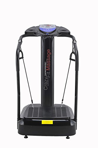 UPGRADED 2016 3900 WATT CRAZY FIT MASSAGE VIBRATION PLATE BUILT IN SPEAKERS...