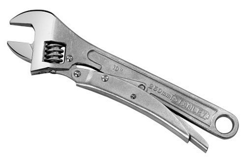 Stanley 85-610 10-Inch Long MaxGrip Locking Adjustable Wrench