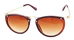 MagJons Brown Color Retro Trend sunglasses