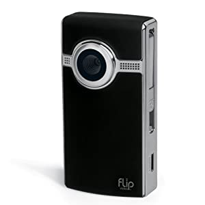 Flip UltraHD Video Camera - Black, 8 GB, 2 Hours (2nd Generation)