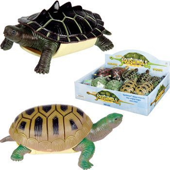 Toysmith Turtle Squishimals Toy - 1