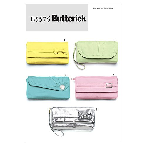 Butterick Patterns B5576 Bags, One Size Only