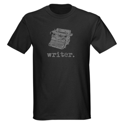 Type-Writer gray Vintage Dark T-Shirt