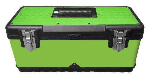 Viper Tool Storage LB20MTB 20-Inch Steel Tool Box, Lime Green