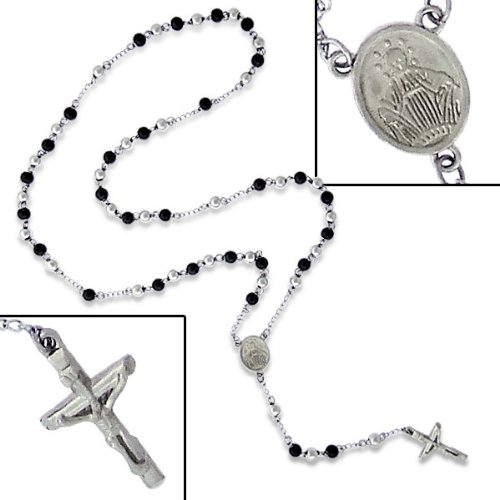 Rosary Bead Necklace - Appx Length: 26