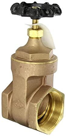 Dixon Brass Gate Valve, NPT Female