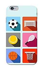 CimaCase Abstract Sports Designer 3D Printed Case Cover For Apple iPhone 6