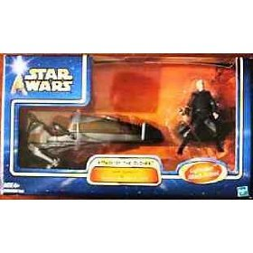 AOTC Darth Tyranus's Geonosian Speeder Bike - 1
