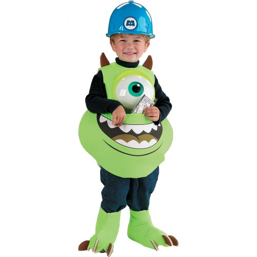 Disguise Inc - Monsters Inc. Disney Mike Candy Catcher Child Costume