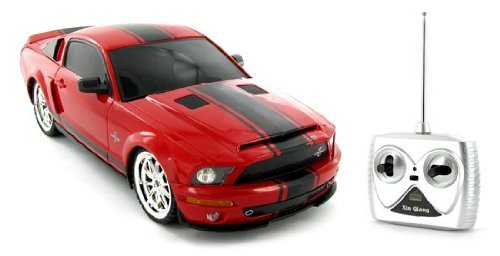 World Tech Toys 1:18 Licensed Shelby Mustang GT500 Super Snake Electric RTR Remote Control RC Car