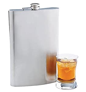 Maxam 64 oz Jumbo Stainless Steel Flask