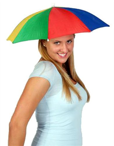 Funny Umbrella Golf Fishing Costume Party Sun Shade Hat