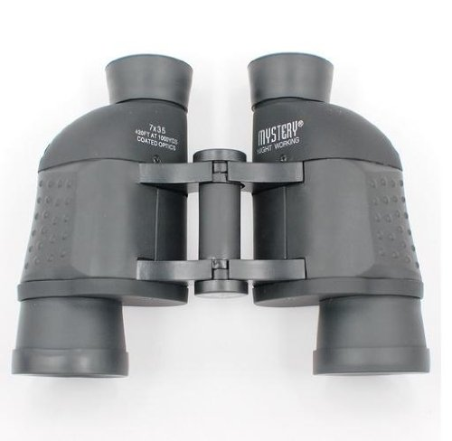 Mystery 7X35 Night Working 420Ft/1000Yds Coated Optics Binoculars,Magnification: 10X