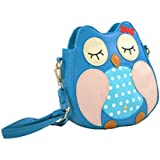 Owl Faux Leather Shoulder Bag / Cross Body Bag