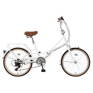 自転車の ギア比 自転車 : シマノ6段ギア搭載 折畳自転車 ...