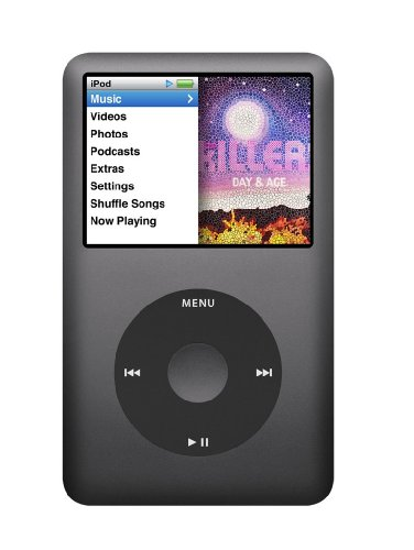 Apple iPod classic 160 GB Black (7th Generation) NEWEST MODEL by Apple
