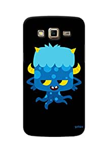 Gobzu Printed Hard Case Back Cover for Samsung Galaxy Grand 2 - Devils Octopus