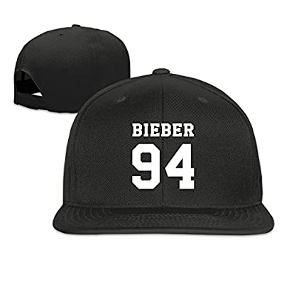WYUZHENG Justin Bieber 94 Number Adjustable Baseball Cap