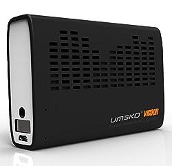 Umeko Vigour power bank with speaker for Mobile/Tablet/Digital Device (Black)