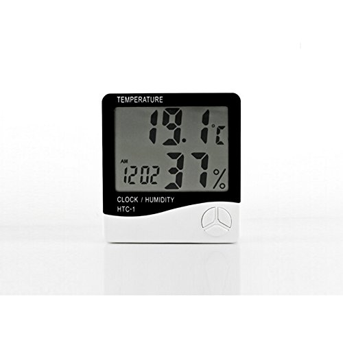 New Lcd Digital Temperature Humidity Meter Thermometer