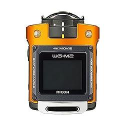 Ricoh WG-M2 Action Camera (Orange)