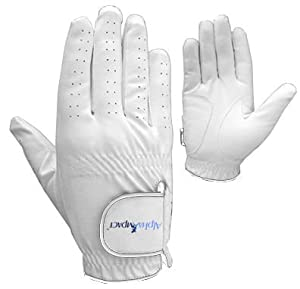 Golf Glove Premium Cabretta Leather, Men's left or right hand, regular fit (Small, Right)