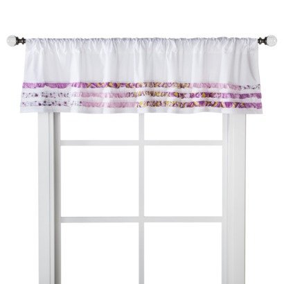"Castle Hill 60"" x 14"" Nursery Window Valance (Choice of Styles) (Bonaire)"