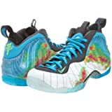 "Nike Mens Air Foamposite One PRM ""Fighter Jet"" Synthetic Basketball Shoes"
