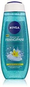 Nivea Body Touch of Frangipani Hydrating Shower Gel 16.9 Ounce