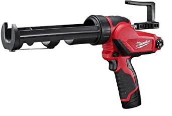 Milwaukee 2441-21 M12 10oz. Caulk and Adhesive Gun Kit
