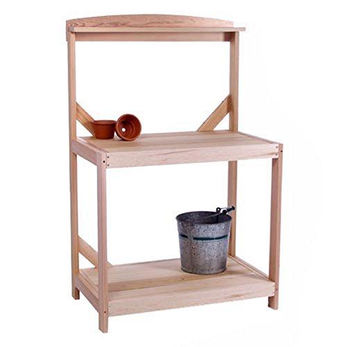 All Things Cedar Oakdale Western Red Cedar Potting Bench (Western Red Cedar Potting Bench compare prices)