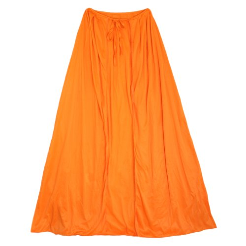 "SeasonsTrading 28"" Child Orange Cape ~ Halloween Costume Accessory"