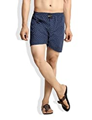 London Bee Men's Cotton Scooter Print Boxer
