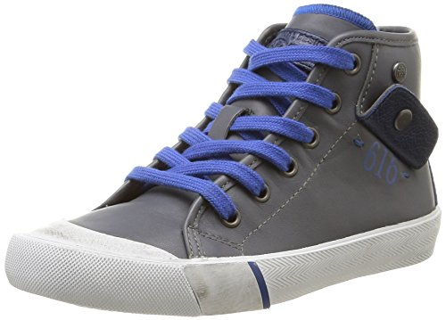Ikks - Karron, Sneakers per bambini e ragazzi, grigio (vte gris/bleu dtx/vulca), 30
