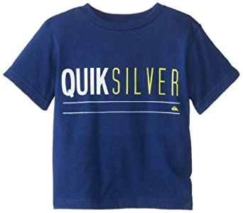 Quiksilver Little Boys' Uno Tee, Twilight Blue, 7
