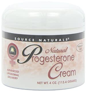 Source Naturals Natural Progesterone Cream, 4 Ounce