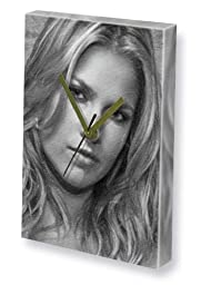 ALI LARTER - Canvas Clock (LARGE A3 - Signed by the Artist) #js005