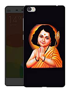 "Humor Gang Murugan Indian God Printed Designer Mobile Back Cover For ""Xiaomi Redmi Mi5"" (3D, Matte, Premium Quality Snap On Case)"