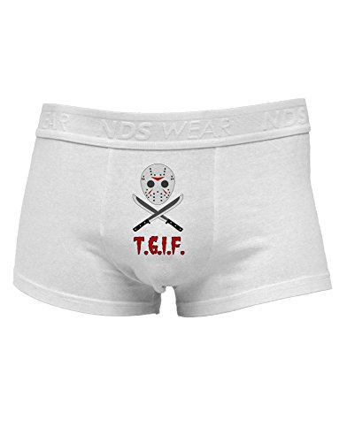 Scary Mask With Machete - TGIF Mens Cotton Trunk Underwear