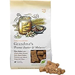 Variety Foods Homestyle Recipes Grandma\'s Peanut Butter & Molasses Natural Dog Biscuit