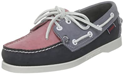 Sebago Spinnaker, Chaussures bateau femme - Rose (Pink/Navy/Blue) - 36