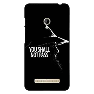 Jugaaduu LOTR Hobbit Gandalf Back Cover Case For Asus Zenfone 5