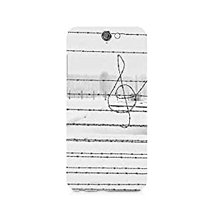 TAZindia Printed Hard Back Case Cover For HTC One A9
