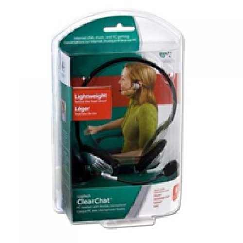 Logitech Clearchat Behind-The-Head Stereo Headphones - 981-000304