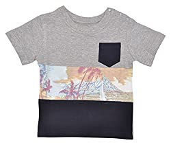 LIL PENGUIN Boy's short sleeved grey t-shirt