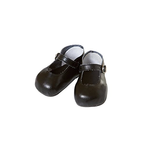 Black Mary Janes Doll Shoes - Doll Clothes by Adora Dolls (20721012) - 1
