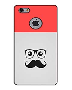 MobileGabbar I Phone 6 Cover logo Cut Back Cover Designer Hard Case
